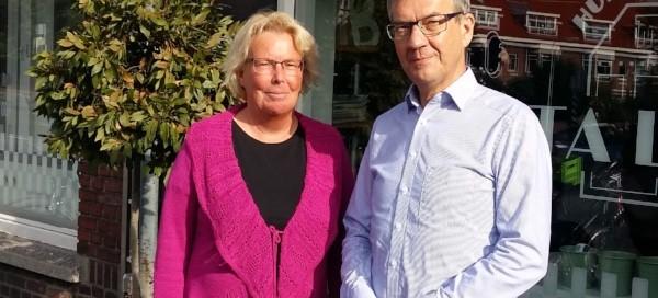 Angela Boon en Joost van Tol, docenten SeniorWeb