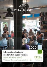 voorzijde folder lezingen evita lokaal 2020