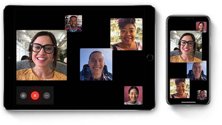FaceTime groepsbellen op iPhone