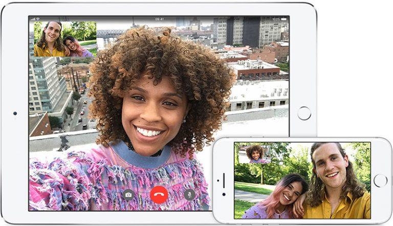 FaceTime bellen op iPhone