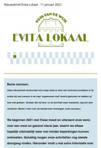 nieuwsbrief evitalokaal 11 januari 2021