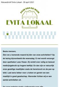 nieuwsbrief evita lokaal 30 april 2021
